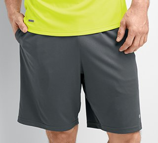 Man wearing knit short