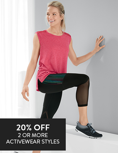 Woman wearing activewear
