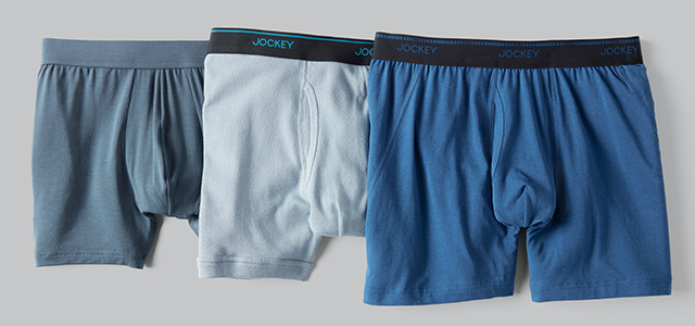 Laydown showing the NEW colors sport underwear are availible in