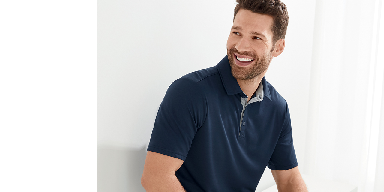Man wearing NEW lounge and leisure clothing