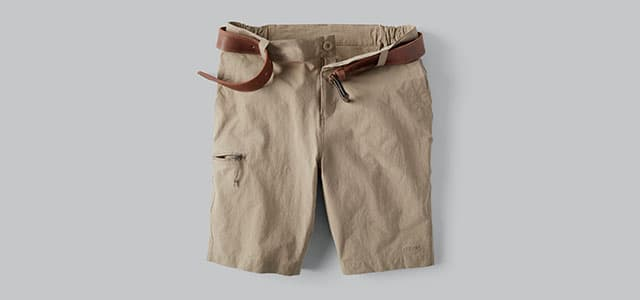 Laydown of the utility short